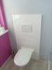 WC- Verkleidungen aus beschichteter Hochglanzplatte